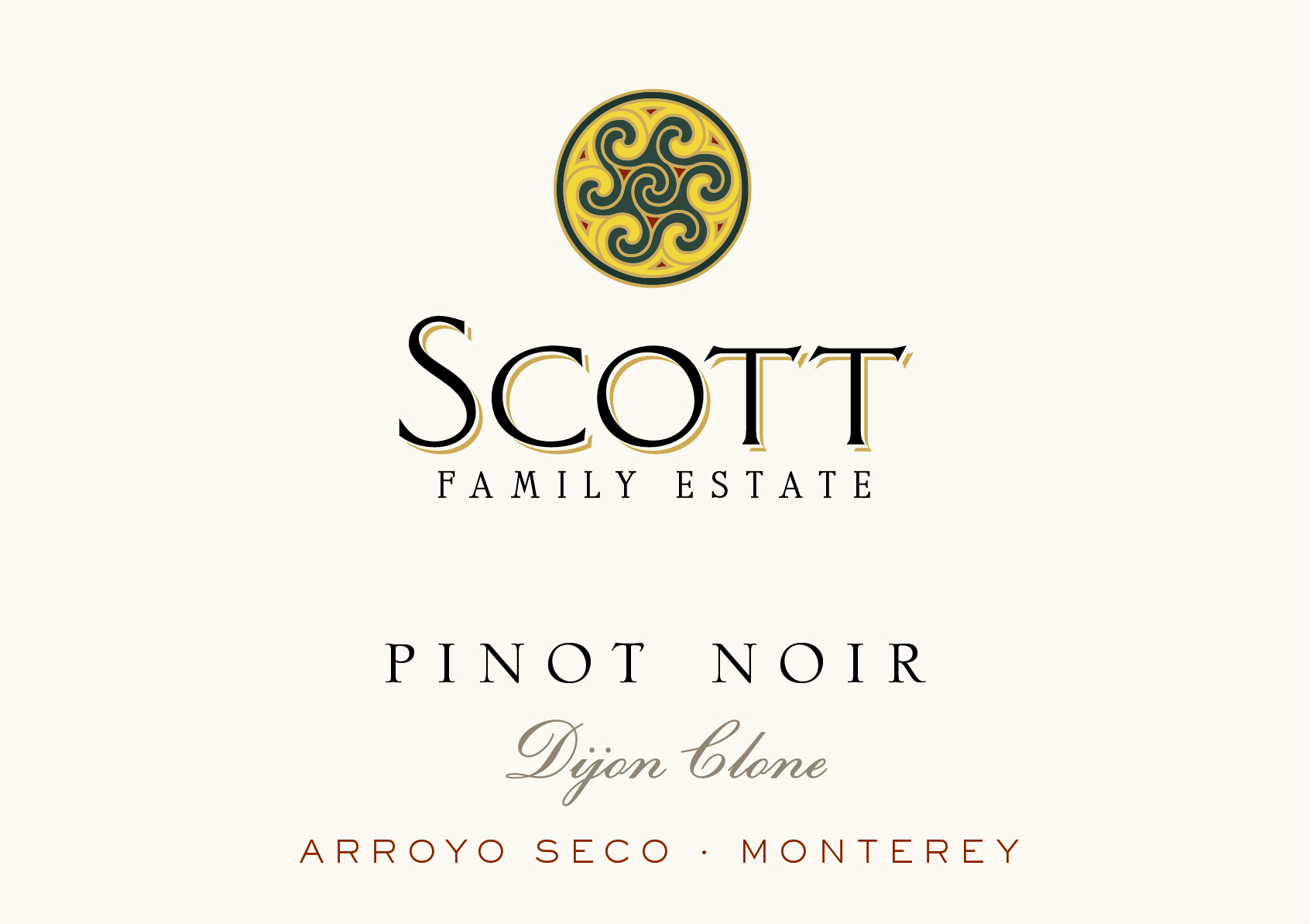 2015 Scott Family Estate Pinot Noir Dijon Clone
