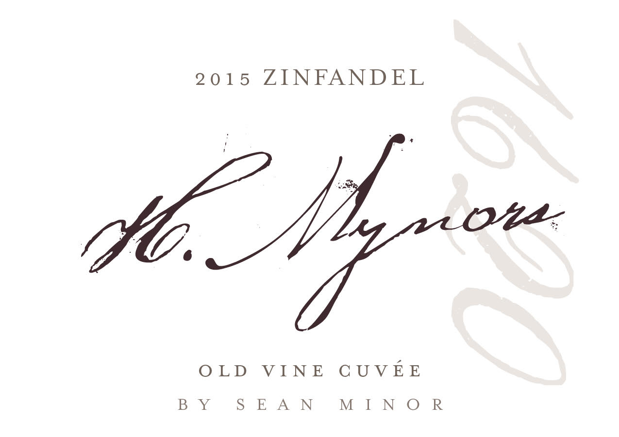 2015 Sean Minor Zinfandel H. Mynors Old Vine Cuvee