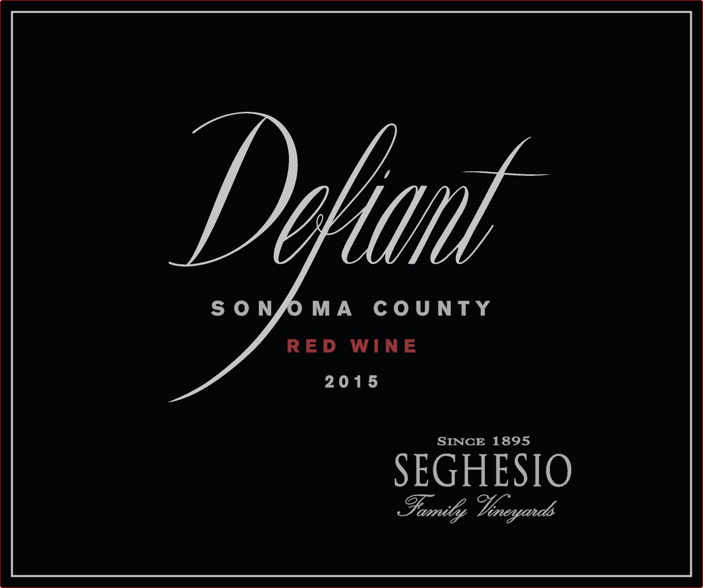 2015 Seghesio Defiant Red
