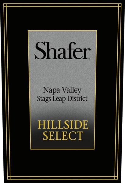Shafer Cabernet Sauvignon Hillside Select