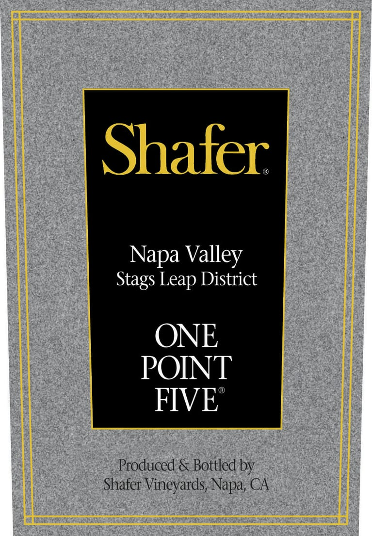 Shafer Cabernet Sauvignon One Point Five