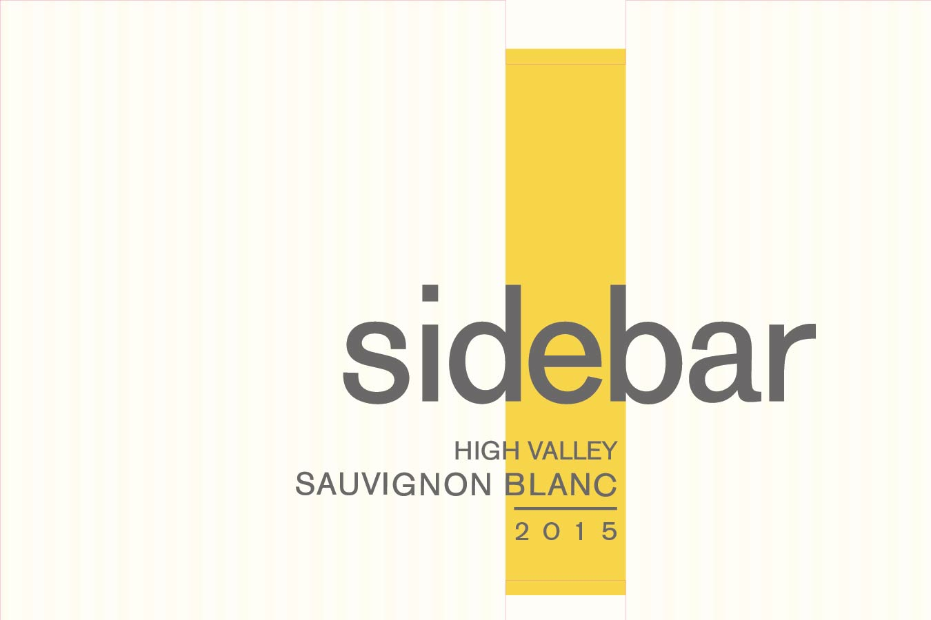 Sidebar Sauvignon Blanc High Valley