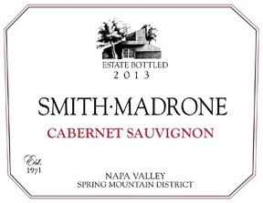 Smith-Madrone Cabernet Sauvignon Estate