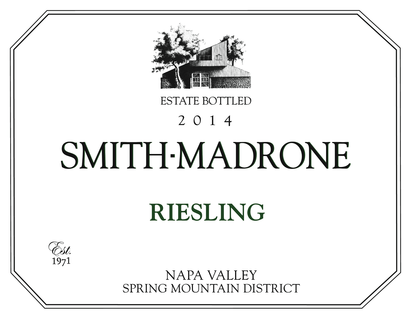 Smith-Madrone Riesling Estate