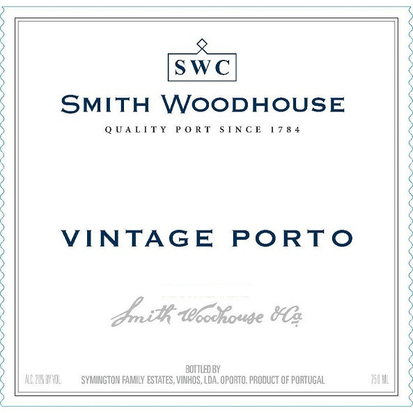 2016 Smith Woodhouse Vintage Porto