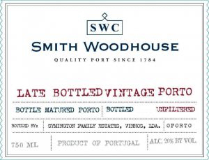 2004 Smith Woodhouse Late Bottled Vintage Porto