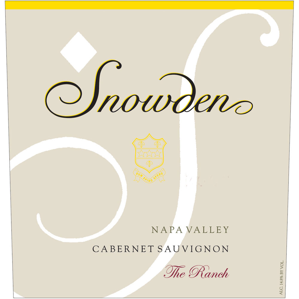 2014 Snowden Cabernet Sauvignon The Ranch