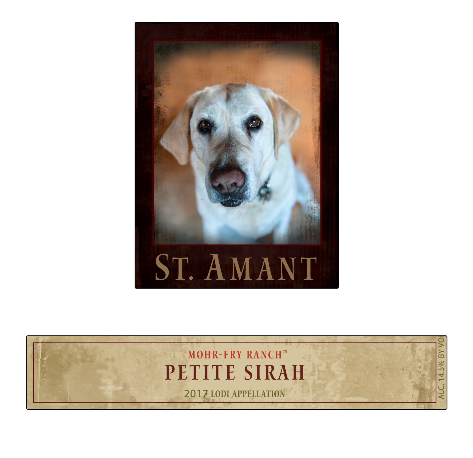 St. Amant Mohr-Fry Ranch Petite Sirah