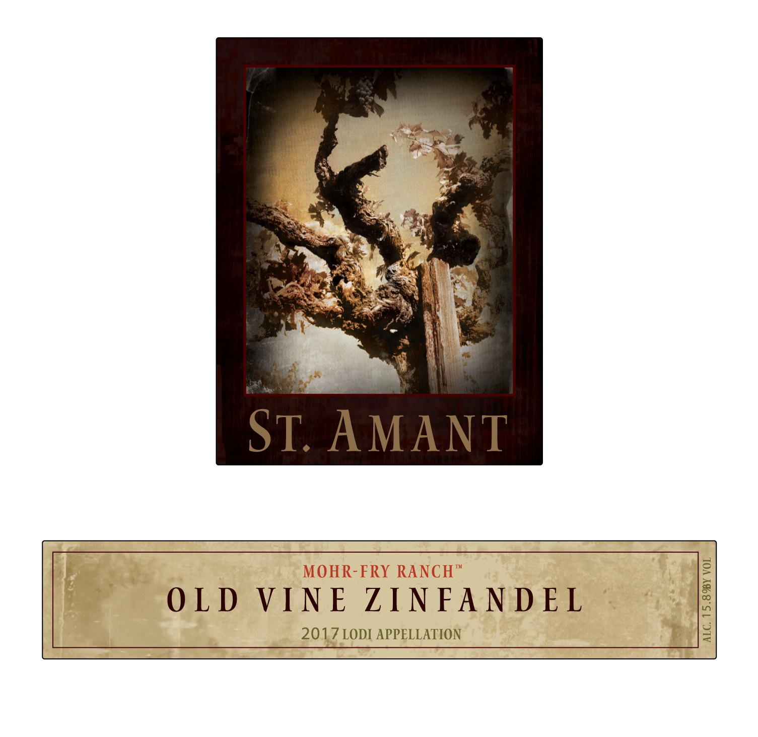 St. Amant Mohr-Fry Ranch Zinfandel Old Vine - Click Image to Close