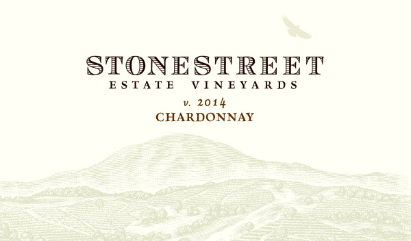 2014 Stonestreet Chardonnay Estate Vineyard