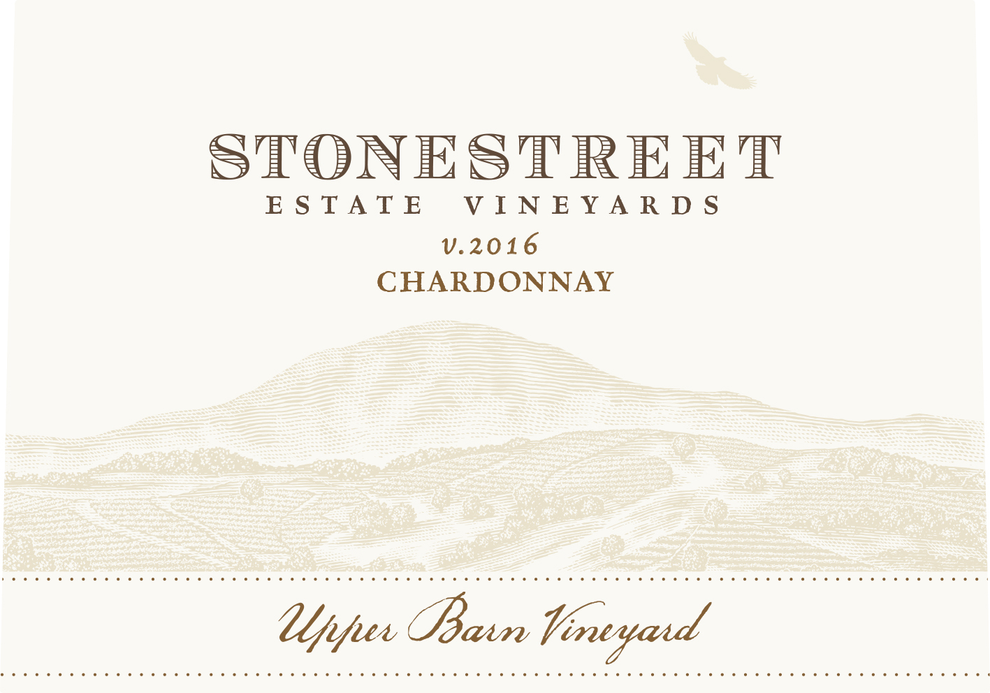 Stonestreet Chardonnay Upper Barn Vineyard