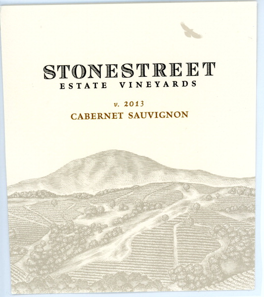 2013 Stonestreet Cabernet Sauvignon Estate Vineyard