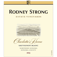 2015 Rodney Strong Sauvignon Blanc Charlotte's Home Vineyard