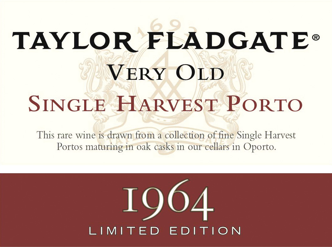 1964 Taylor Very Old Single Harvest Port