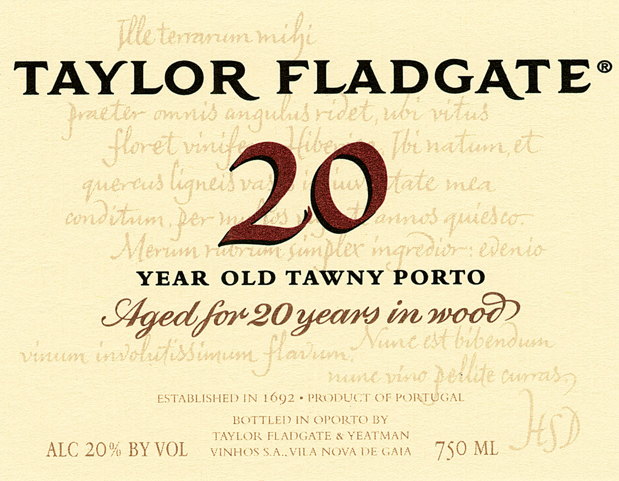 NV Taylor 20 Year Old Tawny Port