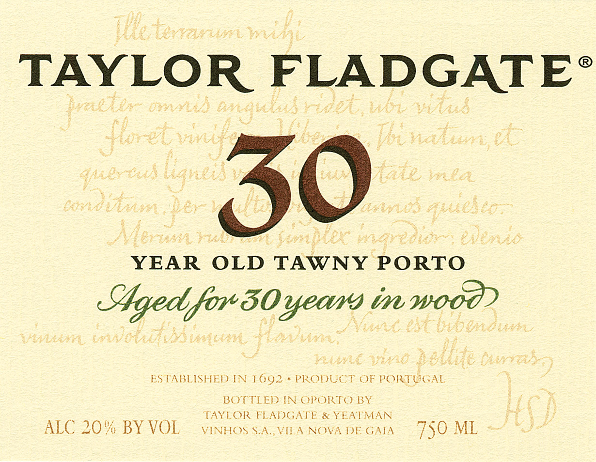 Taylor Fladgate 30 Year Old Tawny Porto