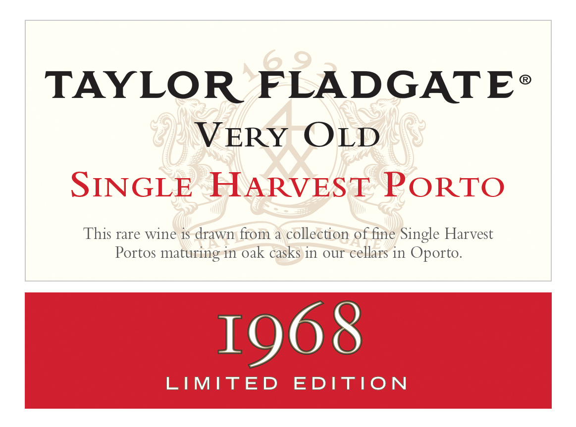 Taylor Very Old Single Harvest Port