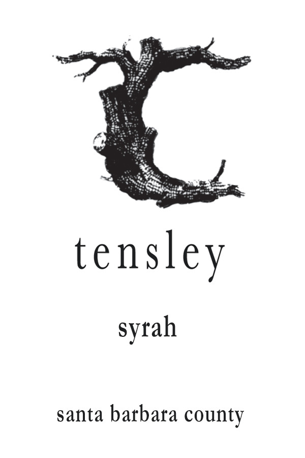 2019 Tensley Syrah