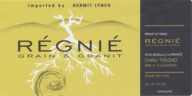 Charly Thevenet Grain & Granit Regnie