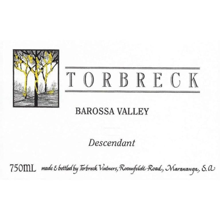 2015 Torbreck Shiraz The Descendant