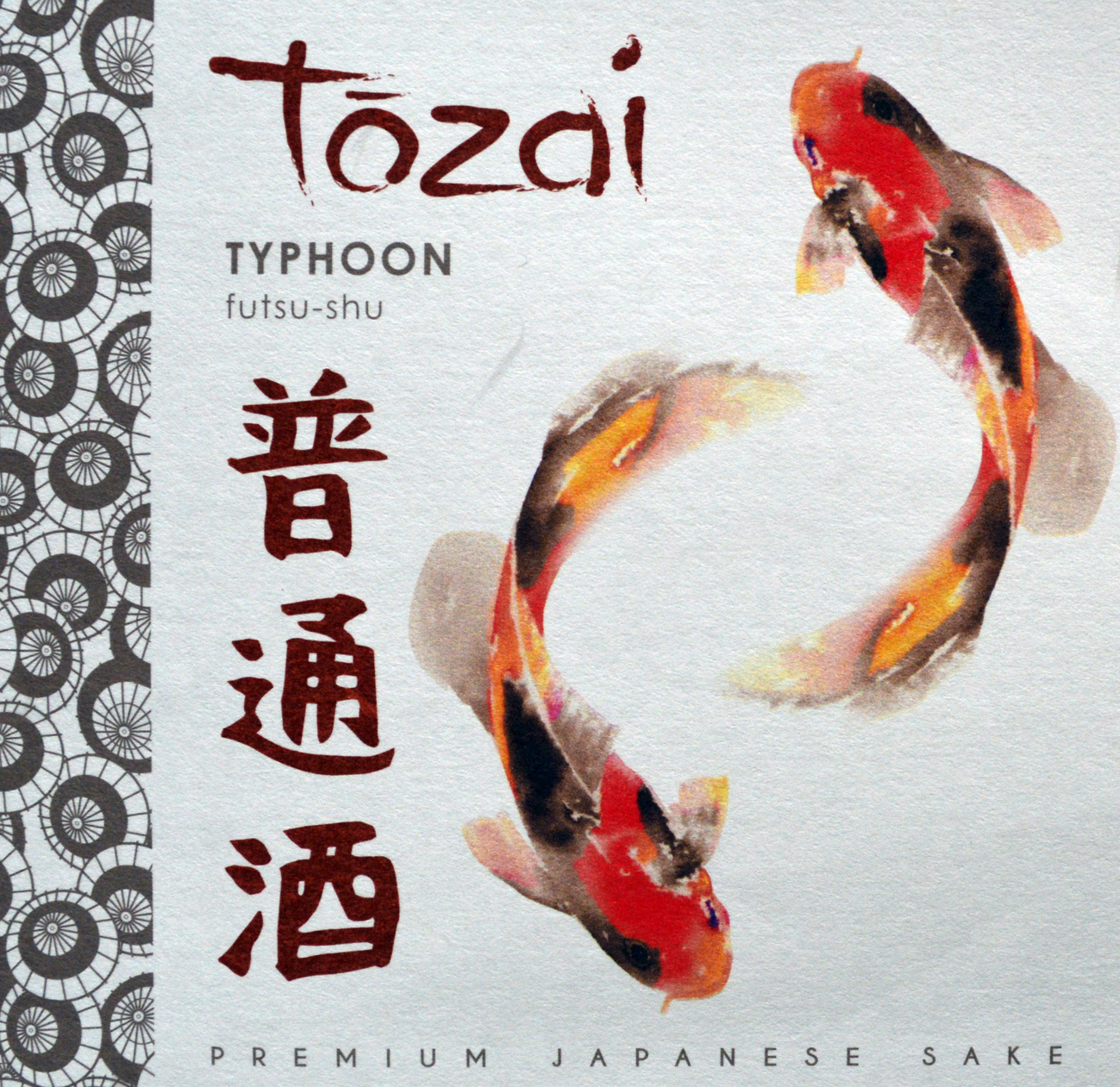N.V. Tozai Sake Typhoon Futsu 720 ml
