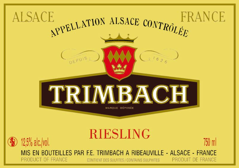 2016 Trimbach Riesling