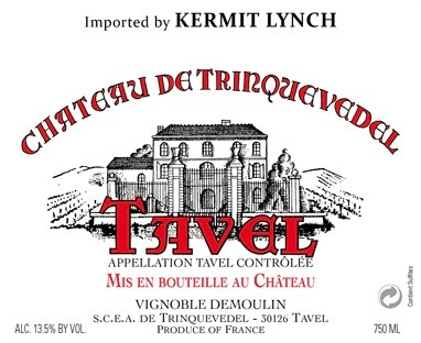 2017 Chateau de Trinquevedel Tavel Rose 375 ml