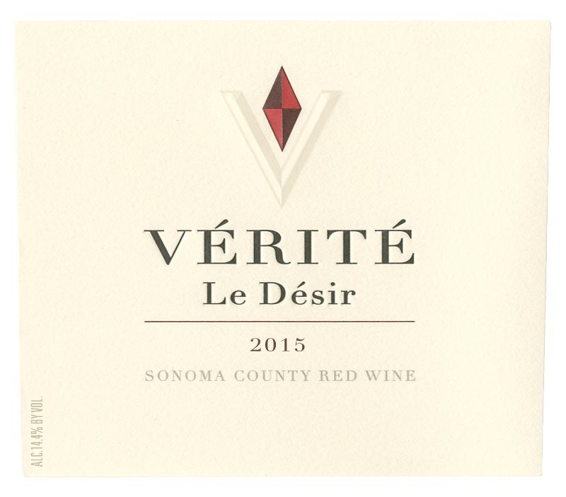2015 Verite Le Desir Proprietary Red Blend