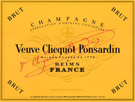 N.V. Veuve Clicquot Brut Yellow Label