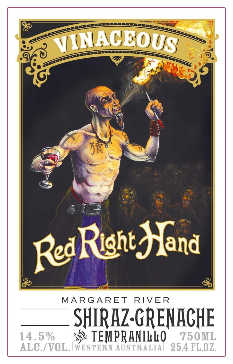 2016 Vinaceous Right Hand Red Blend