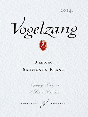 Vogelzang Vineyard Sauvignon Blanc Birdsong (Case of 12)