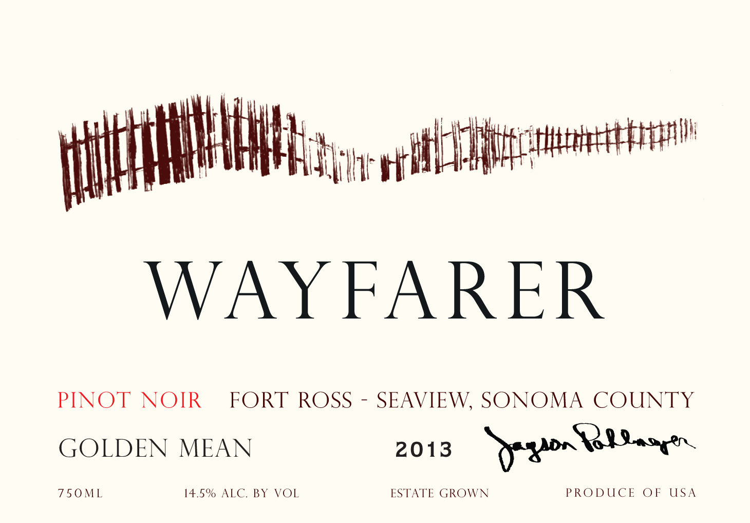 2013 Wayfarer Pinot Noir Golden Mean