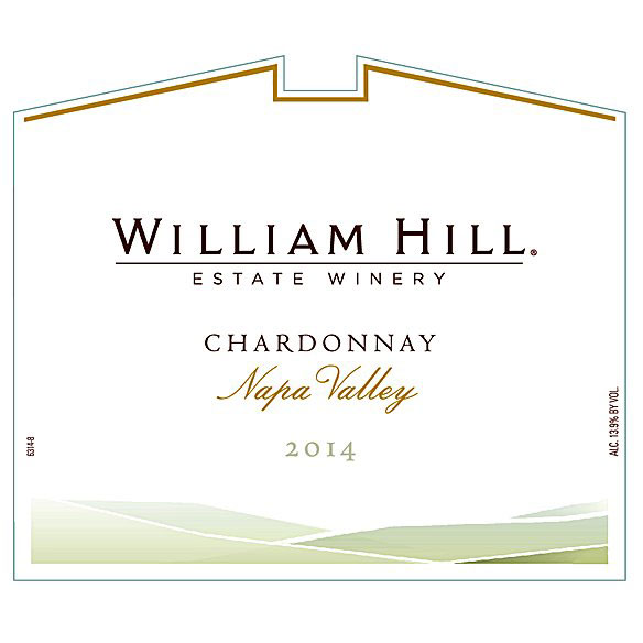 2014 William Hill Chardonnay