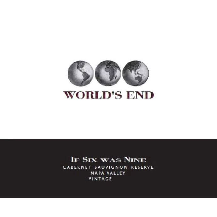 2013 World's End Cabernet Sauvignon If Six Was Nine