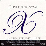 2010 Xavier Vins Chateauneuf-du-Pape Cuvee Anonyme