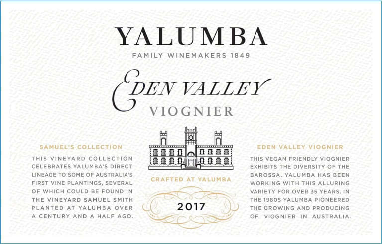 2017 Yalumba Viognier Samuel's Collection